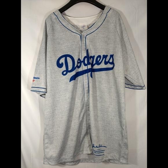 buy online 93255 b93a6 Replica Jackie Robinson baseball jersey
